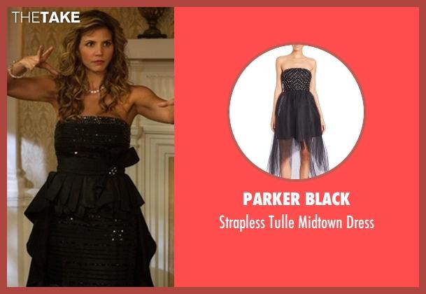Parker Black  black dress from Supernatural seen with Maggie Stark (Charisma Carpenter)
