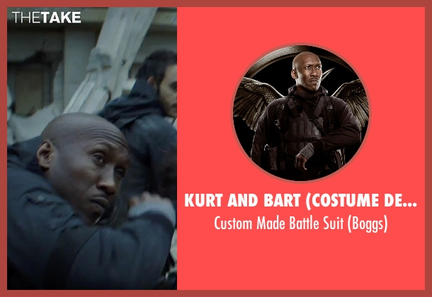 Kurt and Bart (Costume Designer) suit from The Hunger Games: Mockingjay - Part 2 seen with Mahershala Ali (Unknown Character)