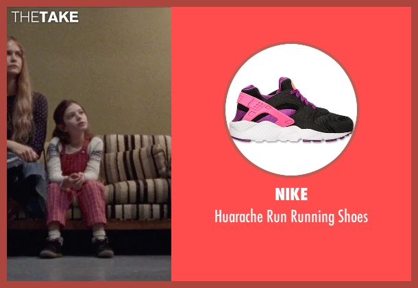 Nike black shoes from Steve Jobs seen with Makenzie Moss (Lisa Jobs (5 Years Old))