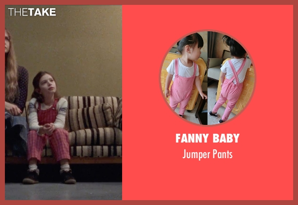 Fanny Baby pink pants from Steve Jobs seen with Makenzie Moss (Lisa Jobs (5 Years Old))