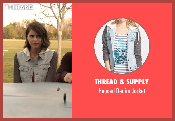 Thread & Supply blue jacket from Teen Wolf seen with Malia Tate (Shelley Hennig)