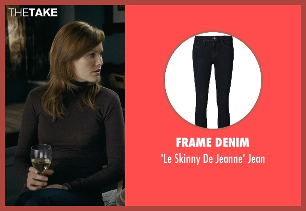Frame Denim blue jean from Couple's Retreat seen with Malin Akerman (Ronnie)