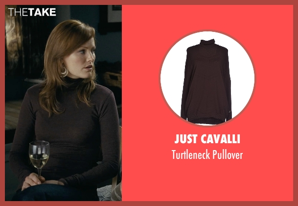 Just Cavalli brown pullover from Couple's Retreat seen with Malin Akerman (Ronnie)