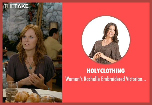 HolyClothing brown top from Couple's Retreat seen with Malin Akerman (Ronnie)