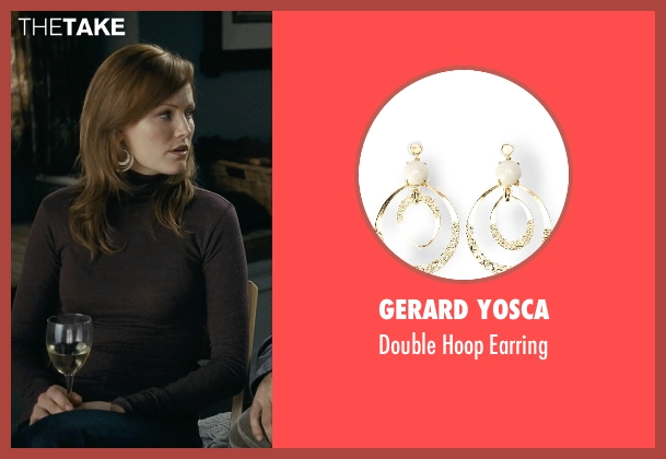 Gerard Yosca gold earring from Couple's Retreat seen with Malin Akerman (Ronnie)