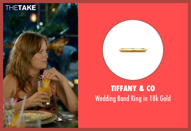 Tiffany & Co gold gold from Couple's Retreat seen with Malin Akerman (Ronnie)