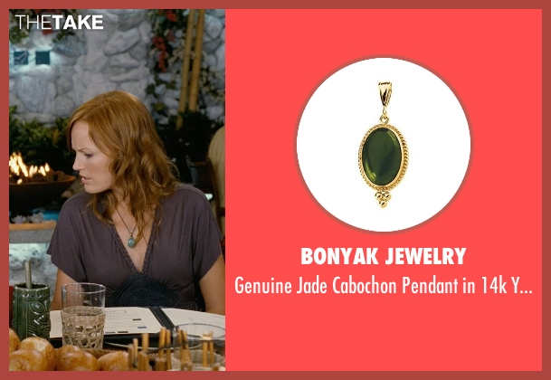Bonyak Jewelry green gold from Couple's Retreat seen with Malin Akerman (Ronnie)