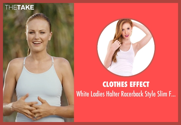Clothes Effect white top from Couple's Retreat seen with Malin Akerman (Ronnie)