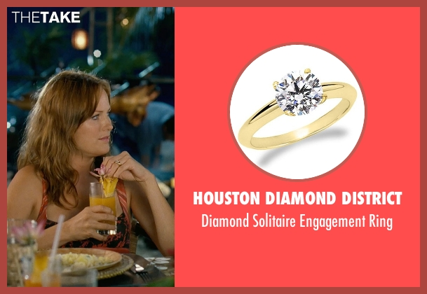 Houston Diamond District yellow ring from Couple's Retreat seen with Malin Akerman (Ronnie)