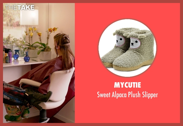 Mycutie green slipper from Ricki and the Flash seen with Mamie Gummer (Julie)