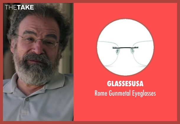 GlassesUSA eyeglasses from Wish I Was Here seen with Mandy Patinkin (Saul Bloom)