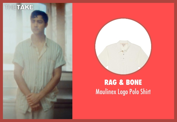 Rag & Bone beige shirt from The Hundred-Foot Journey seen with Manish Dayal (Hassan Haji)