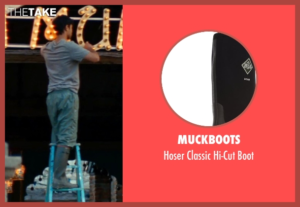 MuckBoots black boot from The Hundred-Foot Journey seen with Manish Dayal (Hassan Haji)