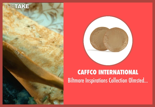Caffco International plates from The Hundred-Foot Journey seen with Manish Dayal (Hassan Haji)
