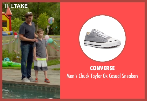Converse gray sneakers from Sleeping with Other People seen with Marc Blucas (Unknown Character)