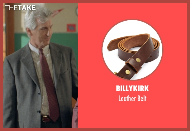 Billykirk brown belt from Boyhood seen with Marco Perella (Professor Bill Welbrock)
