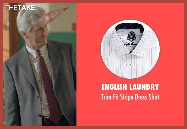 English Laundry white shirt from Boyhood seen with Marco Perella (Professor Bill Welbrock)