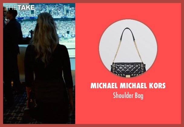 Michael Michael Kors black bag from Focus seen with Margot Robbie (Jess Barrett)