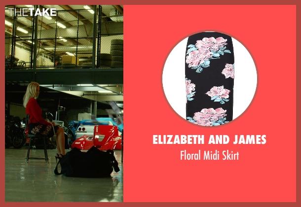 Elizabeth And James   black skirt from Focus seen with Margot Robbie (Jess Barrett)