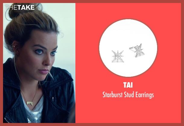 Tai silver earrings from Focus seen with Margot Robbie (Jess Barrett)