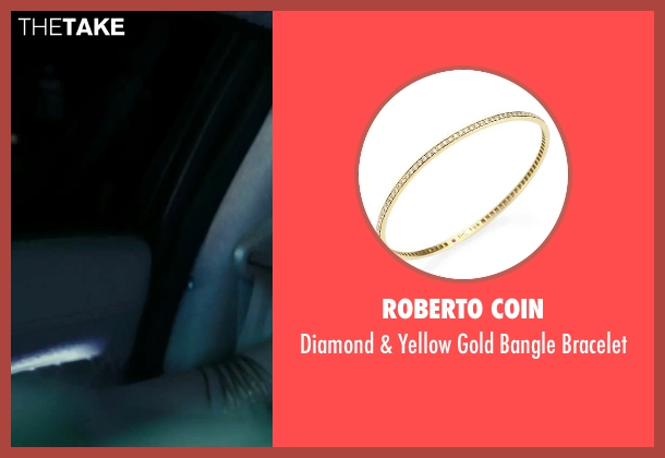 Roberto Coin gold bracelet from Suicide Squad seen with Margot Robbie (Dr. Harleen F. Quinzel / Harley Quinn)