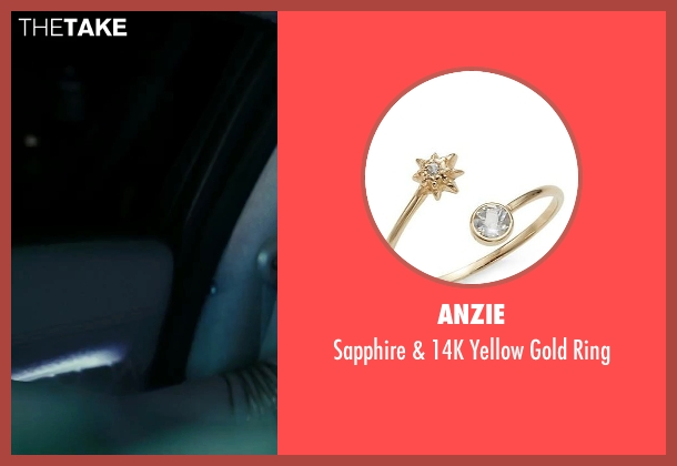 Anzie gold ring from Suicide Squad seen with Margot Robbie (Dr. Harleen F. Quinzel / Harley Quinn)