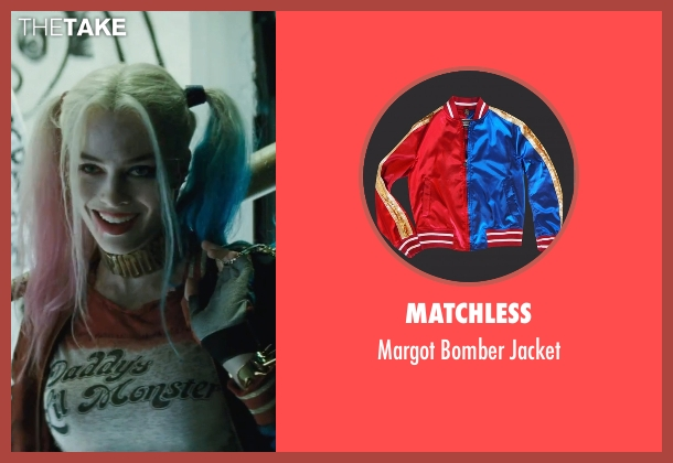Matchless jacket from Suicide Squad seen with Margot Robbie (Dr. Harleen F. Quinzel / Harley Quinn)