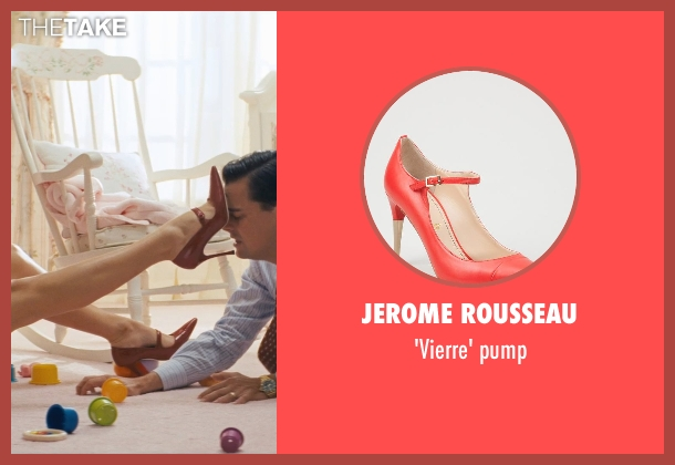 JEROME ROUSSEAU red pump from The Wolf of Wall Street seen with Margot Robbie (Naomi Lapaglia)