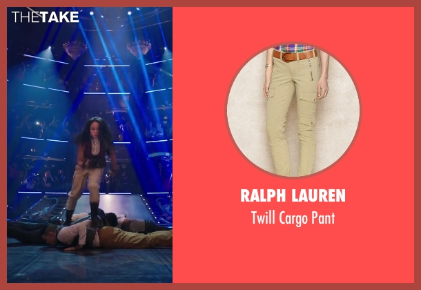 Ralph Lauren pant from Step Up: All In seen with Mari Koda (Jenny Kido)