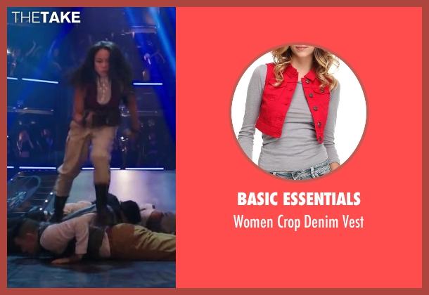 Basic Essentials vest from Step Up: All In seen with Mari Koda (Jenny Kido)