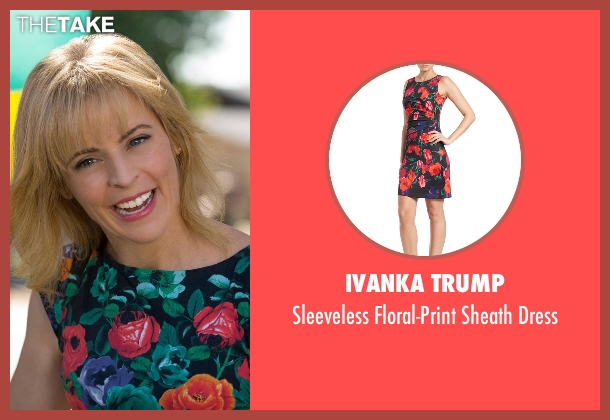 Ivanka Trump black dress from Lady Dynamite seen with Maria Bamford