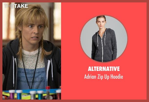 Alternative black hoodie from Lady Dynamite seen with Maria Bamford