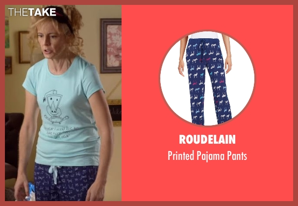 Roudelain blue pants from Lady Dynamite seen with Maria Bamford