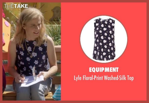 Equipment blue top from Lady Dynamite seen with Maria Bamford