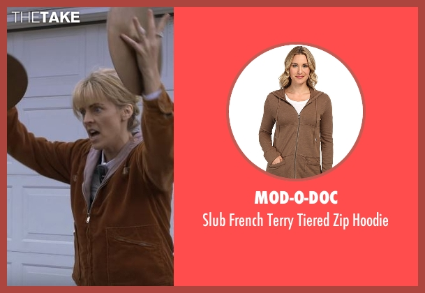Mod-O-Doc brown hoodie from Lady Dynamite seen with Maria Bamford