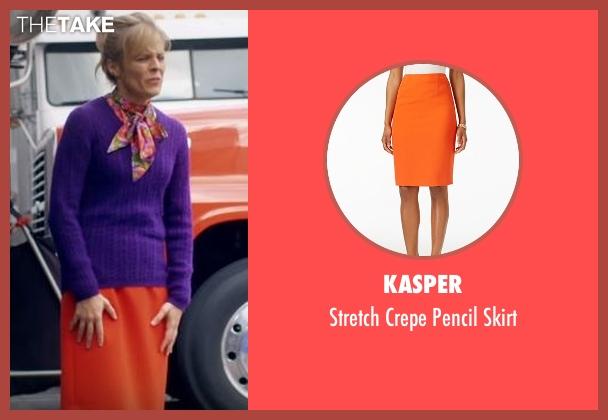 Kasper orange skirt from Lady Dynamite seen with Maria Bamford