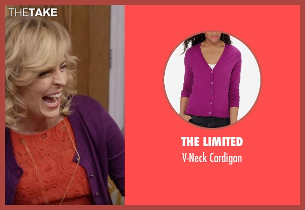 The Limited purple cardigan from Lady Dynamite seen with Maria Bamford