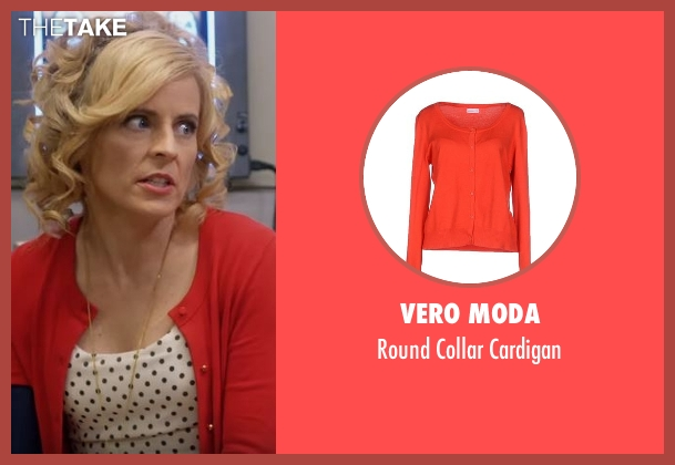 Vero Moda red cardigan from Lady Dynamite seen with Maria Bamford