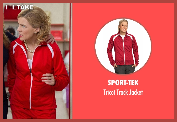 Sport-Tek red jacket from Lady Dynamite seen with Maria Bamford