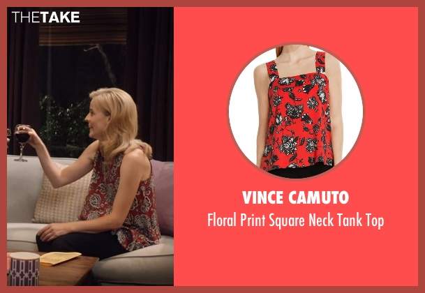 Vince Camuto red top from Lady Dynamite seen with Maria Bamford