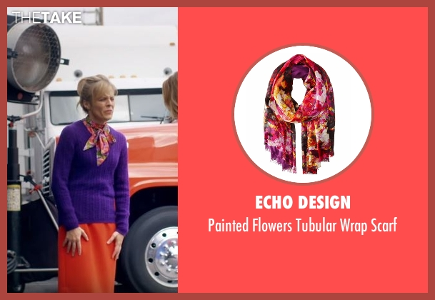 Echo Design scarf from Lady Dynamite seen with Maria Bamford