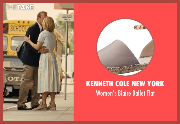 Kenneth Cole New York beige flat from McFarland, USA seen with Maria Bello (Cheryl White)