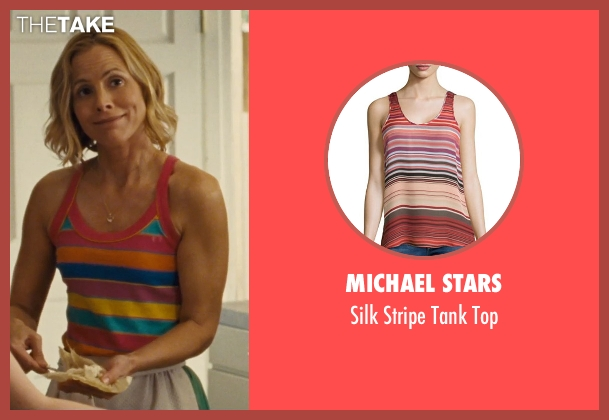 Michael Stars top from McFarland, USA seen with Maria Bello (Cheryl White)