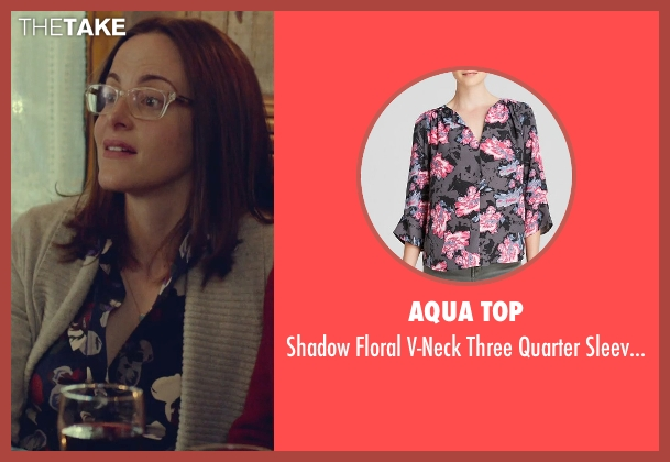 Aqua Top black top from While We're Young seen with Maria Dizzia (Marina)