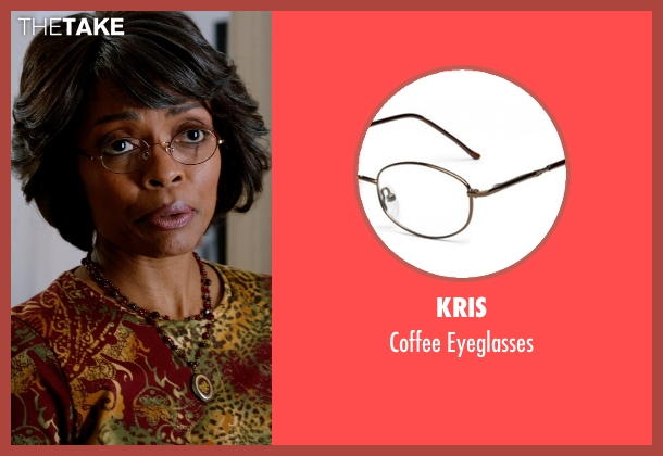 Kris eyeglasses from Addicted seen with Maria Howell (Nina)