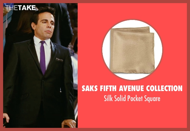 Saks Fifth Avenue Collection brown square from Sex and the City seen with Mario Cantone (Anthony Marentino)