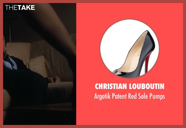 Christian Louboutin black pumps from Crazy, Stupid, Love. seen with Marisa Tomei (Kate Taffety)