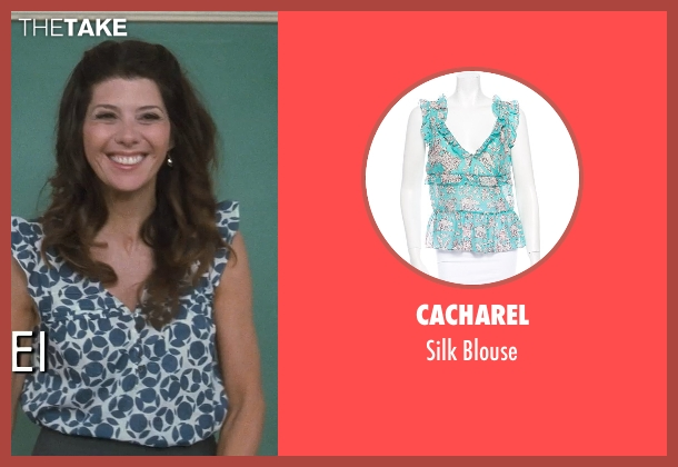 Cacharel blouse from Crazy, Stupid, Love. seen with Marisa Tomei (Kate Taffety)