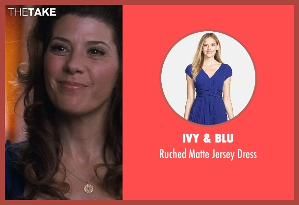 Ivy & Blu blue dress from Crazy, Stupid, Love. seen with Marisa Tomei (Kate Taffety)