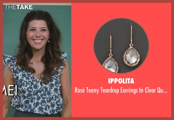 Ippolita silver quartz from Crazy, Stupid, Love. seen with Marisa Tomei (Kate Taffety)